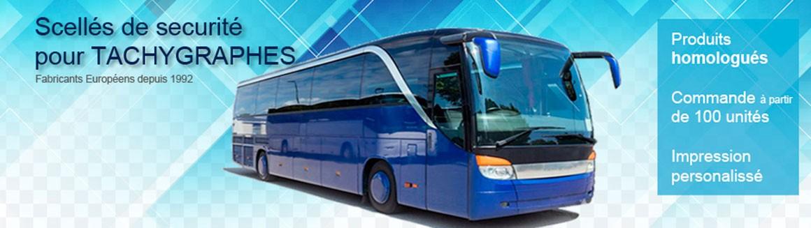 Scellés pou tachygrphes bus